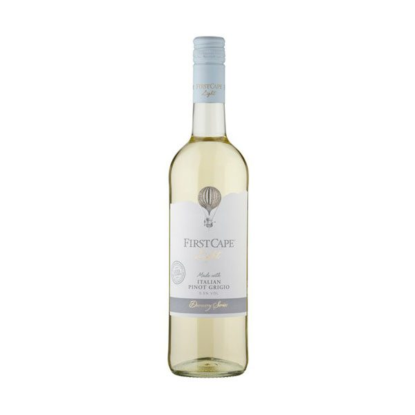 First Cape Light Pino Grigio Witte Wijn, 75cl