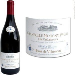 Henri de Villamont Chambolle Musigny Premier Cru