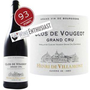 Henri de Villamont Clos de Vougeot Grand Cru