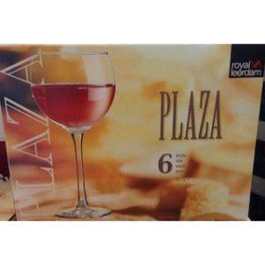 Wijnglas Plaza 35 cl Royal Leerdam 6 st.