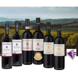 Prachtige Top wijnen uit Toscane