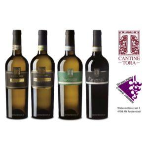 Italiaans wijnpakket met 4 Top wijnen van Cantine Tora